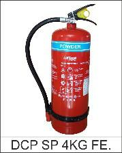 INTIME 4Kg ABC Dry Chemical Powder (MAP 90%) Fire Extinguisher STD4-90