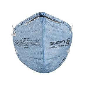 3M 9003IN Ear Loop Strap Mask Face Respirator FFP1 Blue