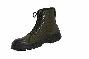 Aktion Green Textile & Genuine Leather Jungle Boot
