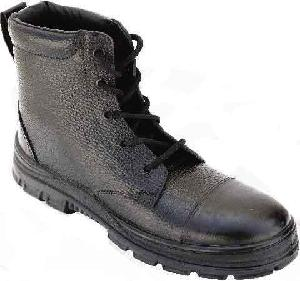 Aktion Leather Safety Shoe Light Weight Tactical Boot