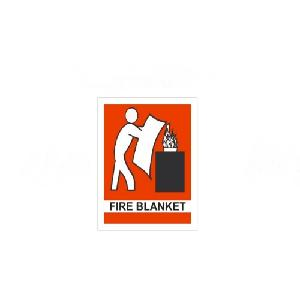 Generic Fire Blanket Safety Sign board