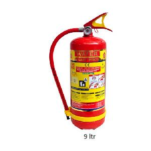 Safe Pro 9 Ltr. Squeeze Grip Cartridge Type Water CO2 Fire Extinguisher