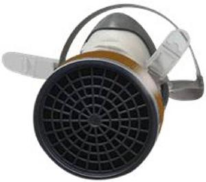 3M 1200 Half Mask Respirator with Cartridge Glossy