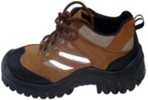 Aktion Safer S2 Size 5 Black With Brown Combination Safety Shoes