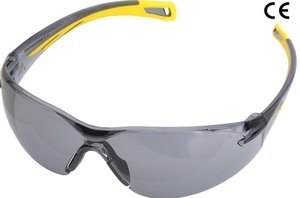 Karam ES013(Smoke) Scratch-Resistant Safety Goggles Pack of 2