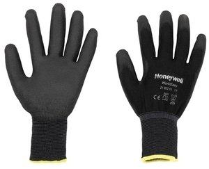 Honeywell Chemical Resistant Gloves Large Pack of 10 Black 2100251