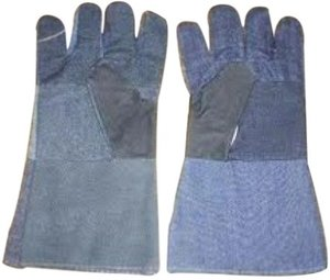 Safe Hands Jeans Gloves Pack of 30 Pair